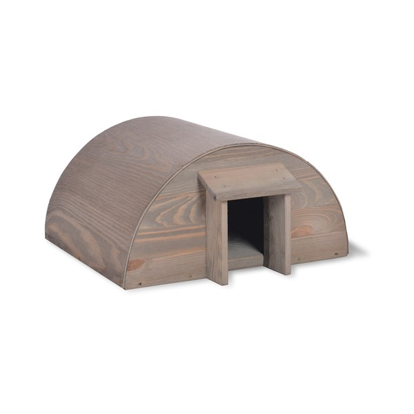 Wooden Hedgehog House for Garden