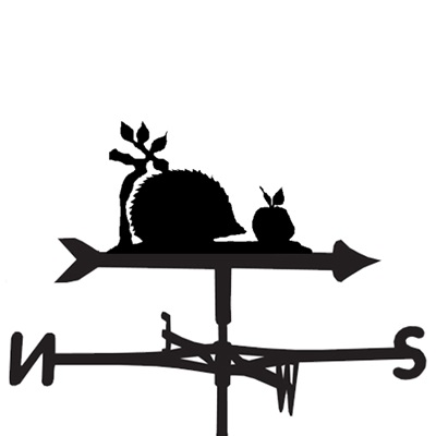 WEATHERVANE in Hedgehog Design