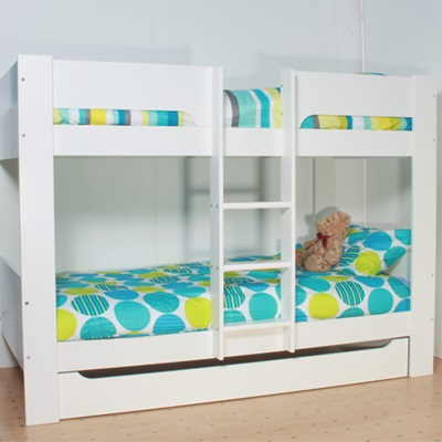 KIDS HEIDI BUNK BED in White