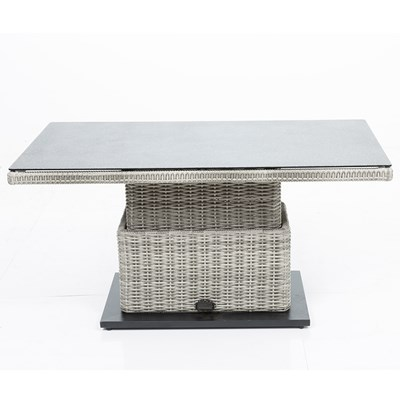 Superior Height Adjustable Modern Garden Table ...