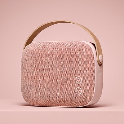HELSINKI WIRELESS SPEAKER in Dusty Rose