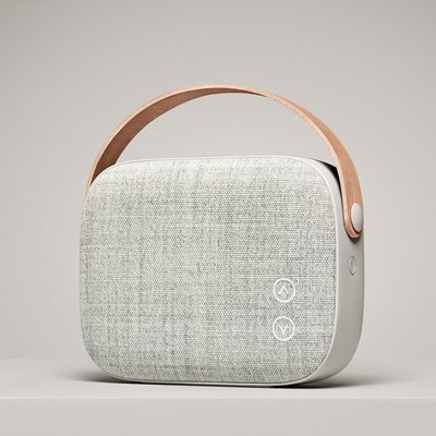 HELSINKI WIRELESS SPEAKER in Sandstone Grey