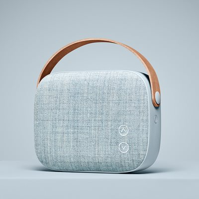 HELSINKI WIRELESS SPEAKER in Misty Blue
