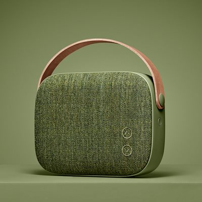 HELSINKI WIRELESS SPEAKER in Willow Green