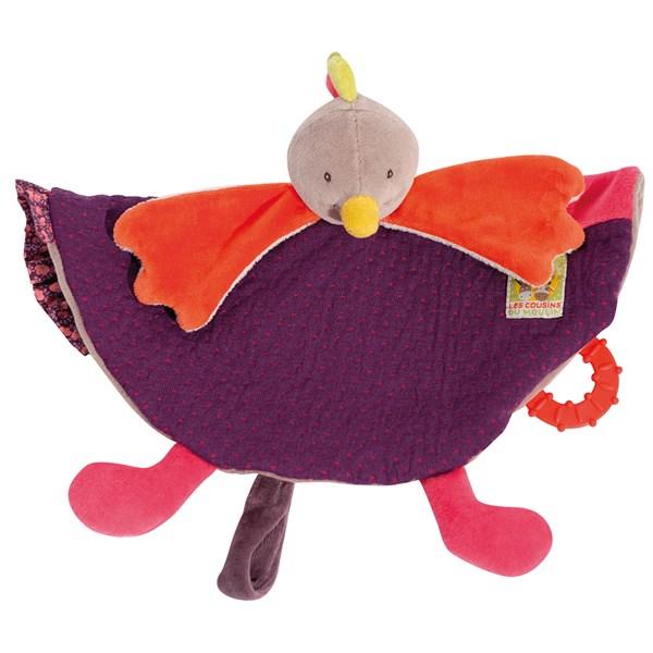 Hen Pacifier Comforter Childrens Toy Gift