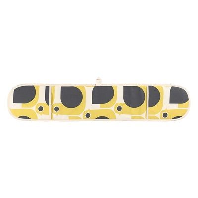 ORLA KIELY DOUBLE OVEN GLOVES in Hen Print