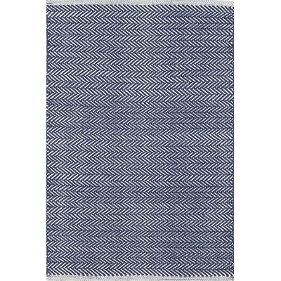INDOOR HERRINGBONE RUG in Indigo