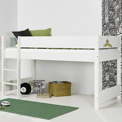 HETTIE WOODEN KIDS MID SLEEPER by Flair Furnishings