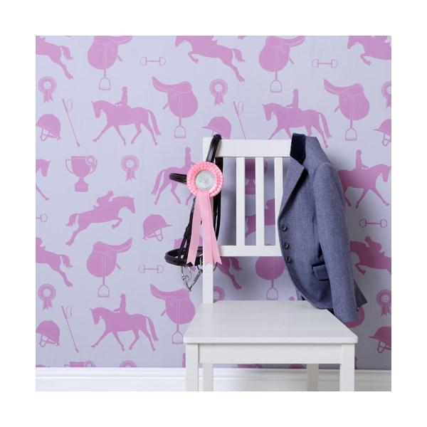 Girls Wallpaper in Horses