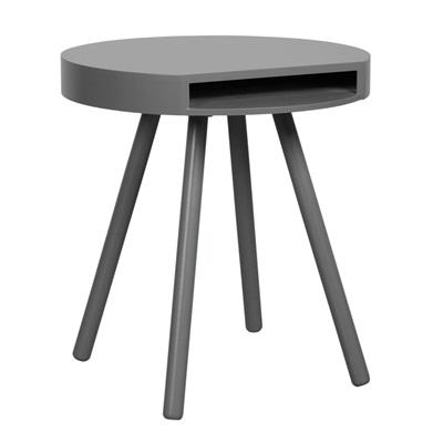 HIDE & SEEK LOUNGE SIDE TABLE with Open Storage