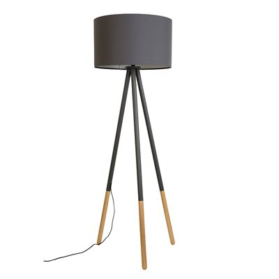 ZUIVER HIGHLAND FLOOR LAMP in Dark Grey