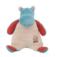 MOULIN ROTY CHILDRENS HIPPO RATTLE