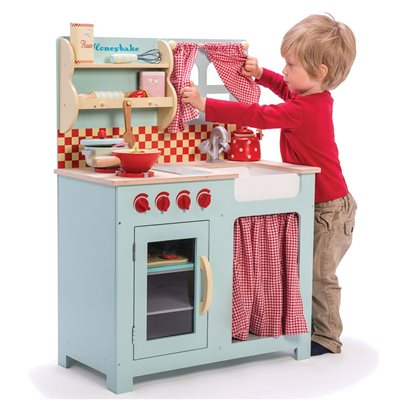 LE TOY VAN HONEY WOODEN PLAY KITCHEN Vintage Country Style