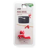 HUG DOUG KITCHEN UTENSIL HOLDER in Red