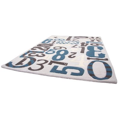 KIDS DECORATIVE RUG in Imprenta Design