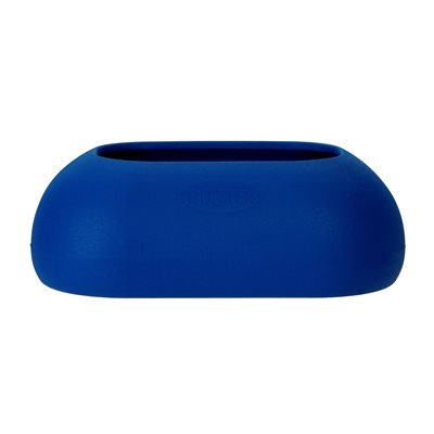 BUSTER INCREDIBOWL Dog Bowl for Long Eared Dogs - Blue