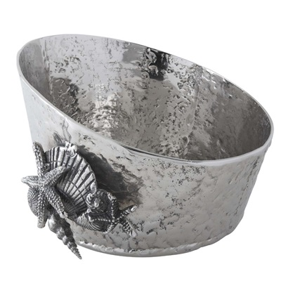 LUXURY CHAMPAGNE TUB in Sea Bed Nautical Design