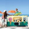 unusual childrens bed in ice cream van design