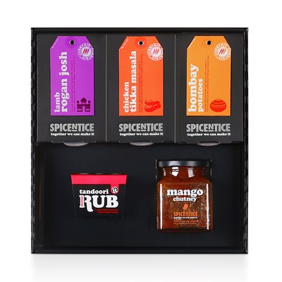 INDIAN RECIPE GIFT SET by Spicentice