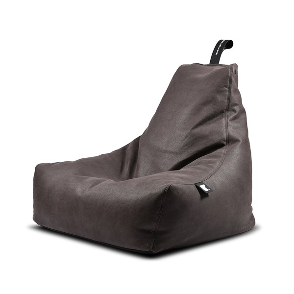 Extreme Lounging Mighty B Luxury Indoor Bean Bag in Slate
