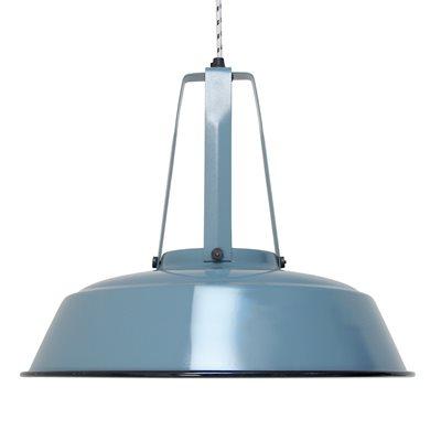 INDUSTRIAL WORKSHOP PENDANT LIGHT in Industrial Blue
