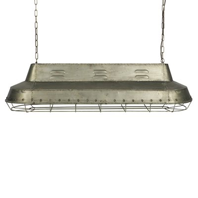INDUSTRIAL METAL CEILING LIGHT