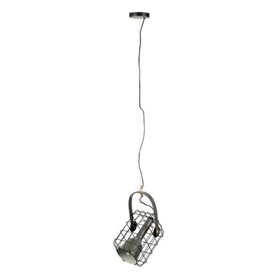 Image of Cage Pendant Light in Black