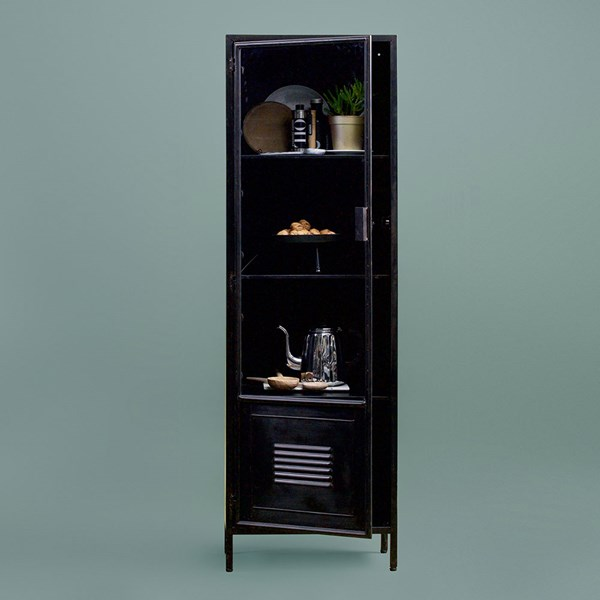 Maud Metal Display Cabinet by Woood