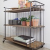 Quirky Metal Wood Built Trolley