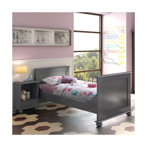 Mathy By Bols Kids Single Bed in Ines Style