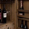 Solid Wood Wine Cabinet from Dutchbone