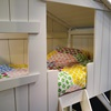 Inside Top Floor of Mathy by Bols Treehouse Bunk Bed - Kids Beds