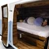 Veneered Interior Luxury Kids Bed with Underbed Storage