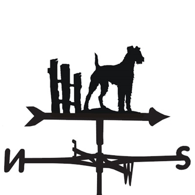 WEATHERVANE in Irish Terrier Design