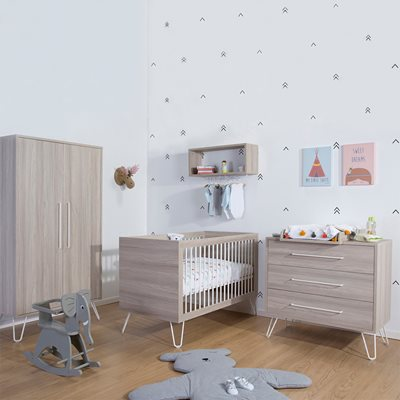 IRONWOOD NURSERY FURNITURE SET in Ashen