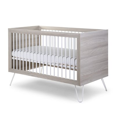 IRONWOOD BABY & TODDLER COT BED in Ashen