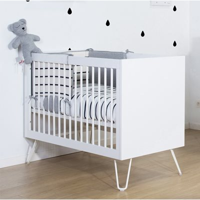 IRONWOOD BABY COT in White