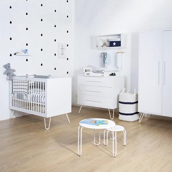 Ironwood White Nursery Furniture Set