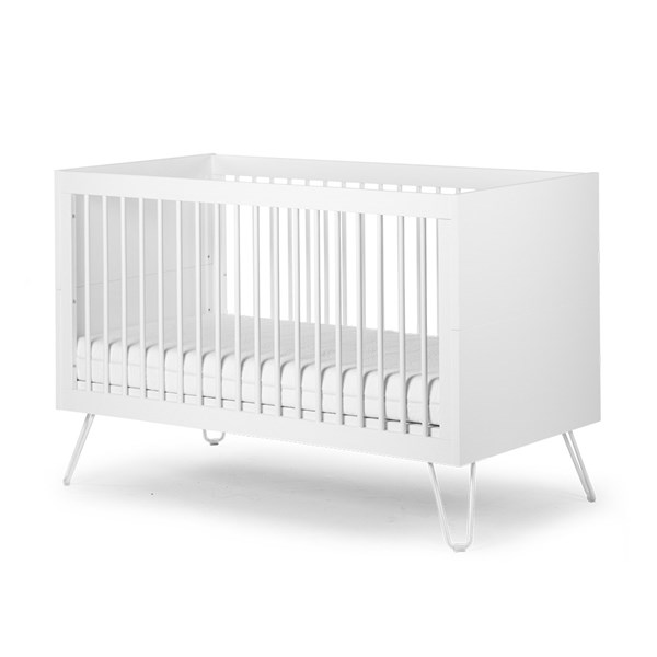 Ironwood White Baby & Toddler Cot Bed