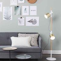 ZUIVER IVY SPOT LIGHT FLOOR LAMP in White