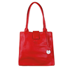JACKIE Leather Handbag in Ruby Red By RedDog Design Ltd