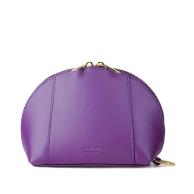 GILLAN Classic Cosmetic Bag Phone Charger in Purple