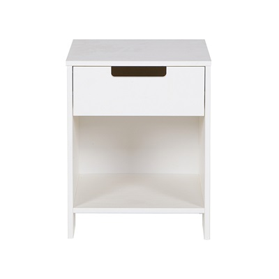 JADE BEDSIDE CABINET in White by Woood