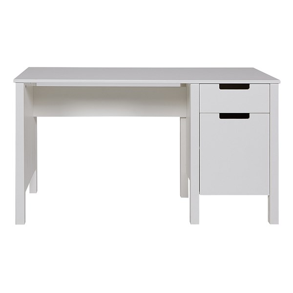 Jade Computer and Study Desk in White