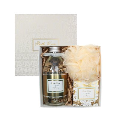 BATH HOUSE JASMINE BATHE GIFT BOX