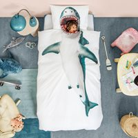 Snurk Single Shark Duvet Bedding Set