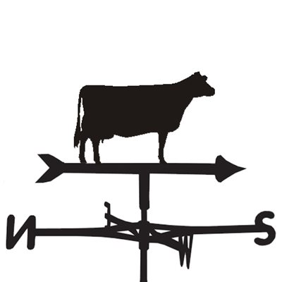 WEATHERVANE in Jersey Cow Design