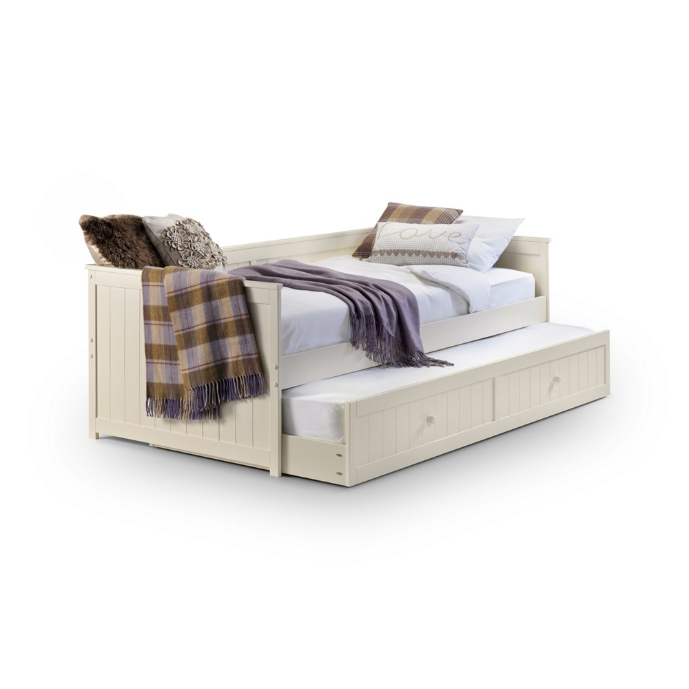Jessica-Daybed-trundle-Underbed.jpg ... - Kids Day Bed With Pull Out Trundle In White - Kids Beds Cuckooland