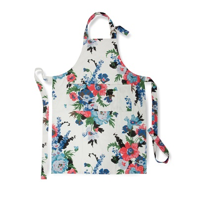 JOULES GARDEN APRON in Creme Floral