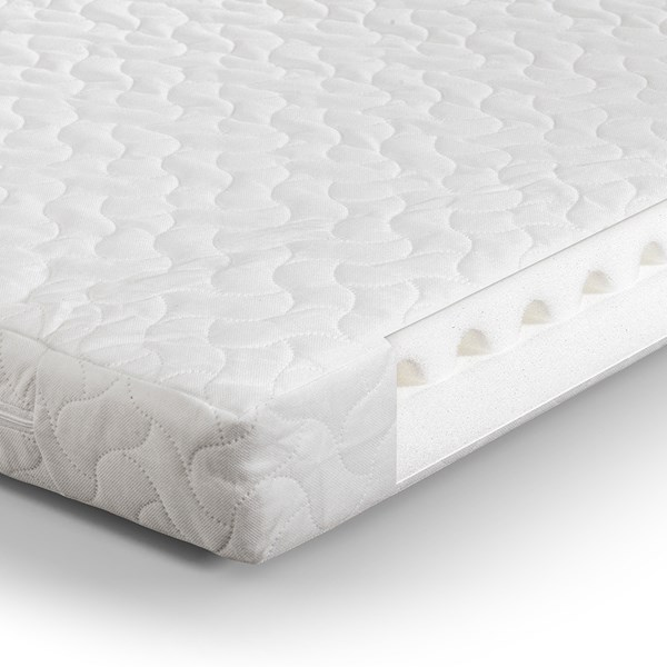Luxury Cotbed Mattress with Air Wave Foam